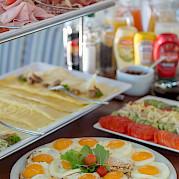 Breakfast Buffet | Caprice | Bike & Boat Tours