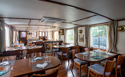 Dining Area | Caprice | Bike & Boat Tours