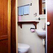 Private Bathroom | Caprice | Bike & Boat Tours