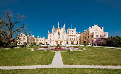 Lednice Castle, Czech Republic. Flickr:Marco Verch Professional