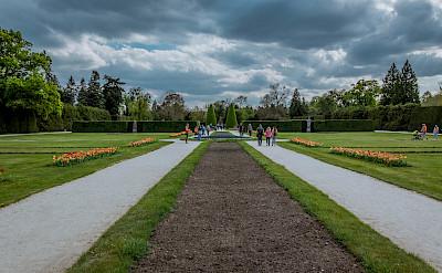 Gardens at Lednice Castle, Czech Republic. Flickr:Marco Verch Professional
