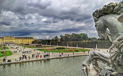 Fountains at Schönbrunn Palace, Vienna, Austria. Flickr:r chelseth