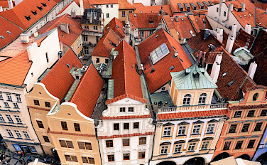 Famous Old Town Square in Prague, Czech Republic. Flickr:amir appel