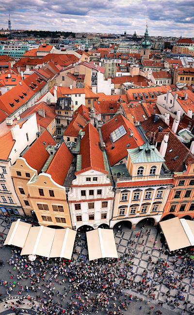 Famous Old Town Square in Prague, Czech Republic. Flickr:amir appel