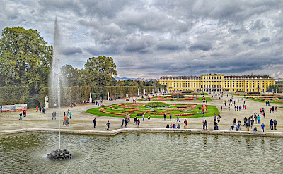 Schönbrunn Palace in Vienna, Austria. Flickr:r chelseth