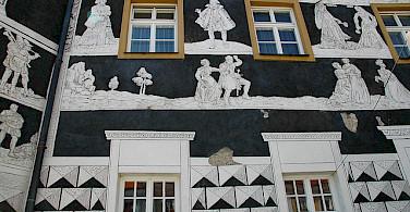 Really amazing architecture in Mikulov. Photo via Flickr:kpi