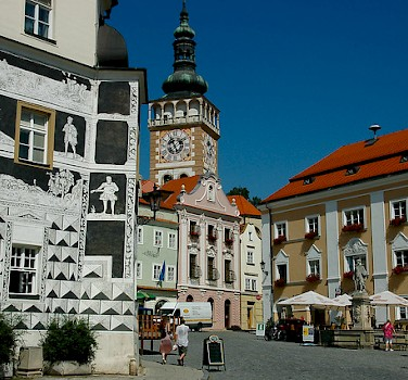 Gorgeous town of Mikulov, Moravia, Czech Republic. Photo via Flickr:kpi