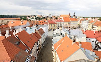 Znojmo's red rooftops in the Czech Republic. Flickr:Petr Kadlec