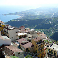 Great views from atop Castelmola in Sicily. Photo via Flickr:Leandro's World Tour
