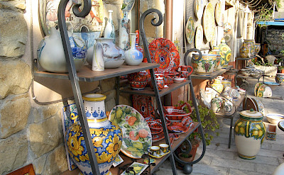 Gorgeous ceramics for sale in all of Sicily. Photo via Flickr:Davide Restivo