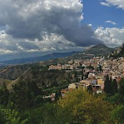 Etna, Taormina, and the Ionian Sea Photo
