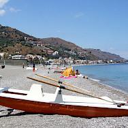 Bike rest on the coast of Taormina, Sicily. Photo via Flickr:gnuckx CC0