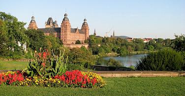 Castle in Aschaffenburg. Photo via Flickr:Resident on Earth