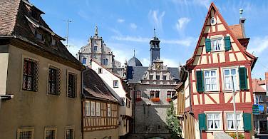 Malerwinkelhaus in Marktbreit. Photo via Flickr:curnen