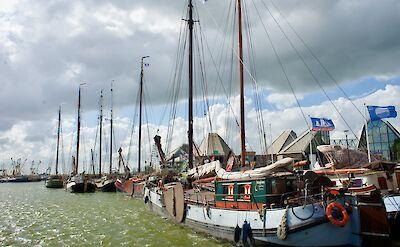 Many boats in Stavoren, Friesland, the Netherlands. Flickr:Bruno Rijsman