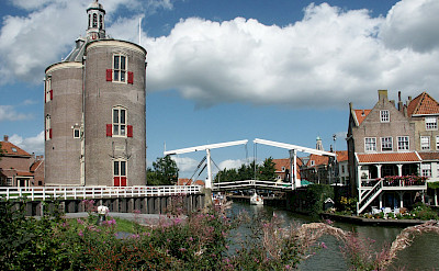 Enkhuizen, part of West Frisian Islands in the Netherlands. ©TO