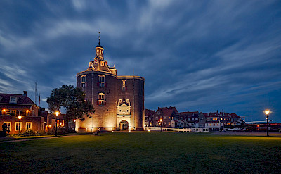 Evening in Enkhuizen, West Frisian Islands in North Holland, the Netherlands. CC:Kateryn Abaiduzha