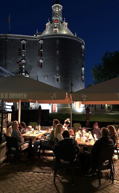 Dining in Enkhuizen, North Holland, the Netherlands. ©TO