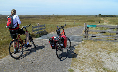 Biking the Frisian Islands tour in the Netherlands. ©TO