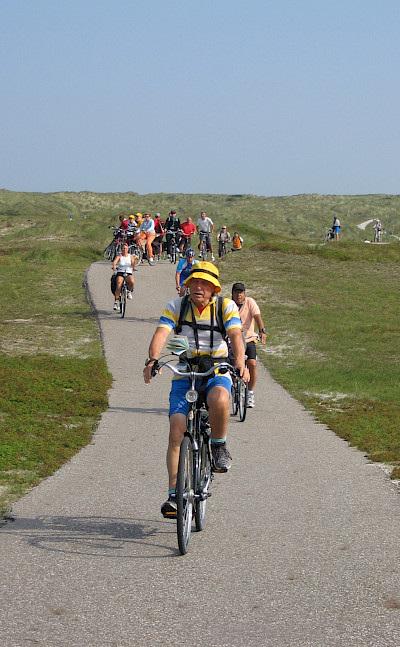 Biking the Islands in Holland! ©TO
