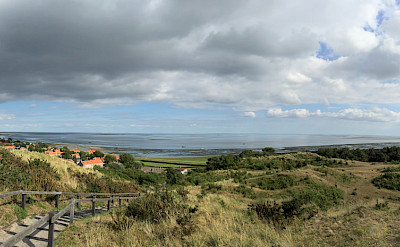 View from lighthouse in Vlieland, Province Friesland. Photo via Flickr:Paul Arps
