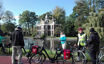 Biking through Breukelen, the Netherlands. ©TO
