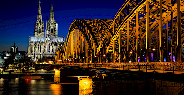 Cathedral of Cologne along the Rhine River in Germany. Flickr:Daniel Knieper