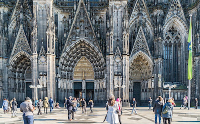 Cologne Cathedral in Germany. ©TO