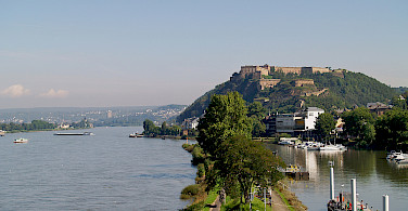 Rhine River in Koblenz, Germany. Photo via Flickr:Filippo Diotalevi