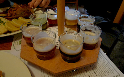 Beer tasting is Prague, Czech Republic. Flickr:Ralf Smallkaa