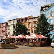 Such colorful buildings in Decin, Czech Republic. Flickr:boaski