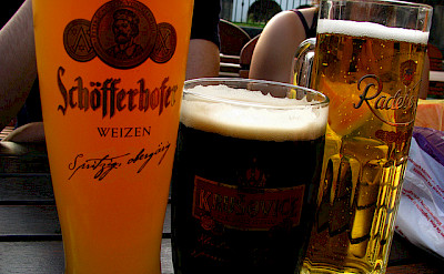 Beer tastings in Dresden on the Elbe River in Germany. Flickr:Ruben Vique