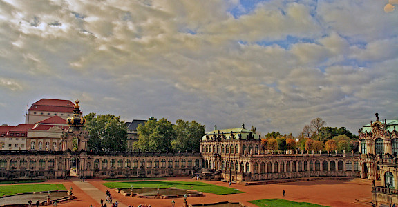 Zwinger Palace in Dresden, Germany. Flickr:bert kaufmann