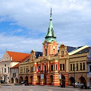 Gorgeous architecture in Melnik, Czech Republic. Wikimedia Commons:VitVit