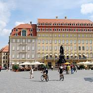 Neumarkt in Dresden, Germany. Flickr:Torsten Maue