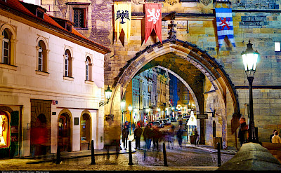 Prague was largely spared in WWII bombings thus has a very old feel. Czech Republic. Flickr:Moyan Brenn