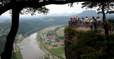What a view! Prague to Dresden. Photo courtesy of Tour Operator.