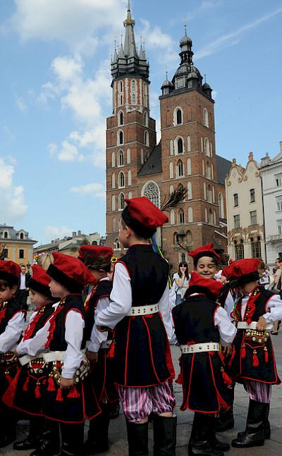 Old Town in Krakow. Photo via Flickr:slickimages
