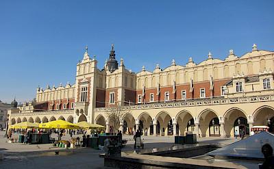 Linen Hall in Krakow. Photo via Flickr:wyzik