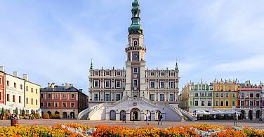 Gorgeous town of Zamosc. Photo via Flickr:PolandMFA