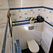 Cabin Bathroom - Mare Fan Fryslan | Bike & Boat Tours