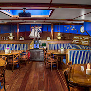 Dining area - Wapen fan Fryslan - Boat & Bike Tours