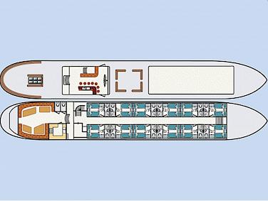 Deck plan - Wapen Fan Fryslan
