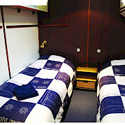 Twin cabin - Wapen fan Fryslan - Boat & Bike Tours