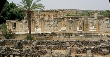Ruins in Capernaum. Photo via Flickr:SeetheHolyLand.net