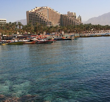 Harbor in Eilat. Photo via Flickr:israeltourism