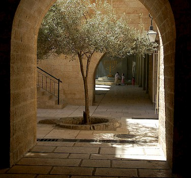 Old City Jewish Quarter, Jerusalem. Photo via Flickr:David King