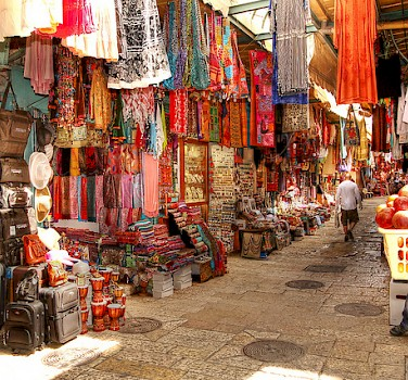 Jerusalem Old City Market. Photo via Flickr:israeltourism