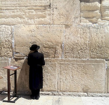 Western Wall in Jerusalem. Photo via Flickr:Sebastian Wallroth
