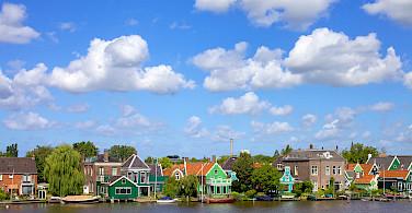 Biking around Amsterdam in North Holland. Photo via Flickr:Francesca Cappa